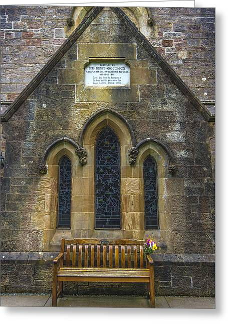 Historic Architecture Greeting Cards - Old Village Church Greeting Card by Steven Ainsworth