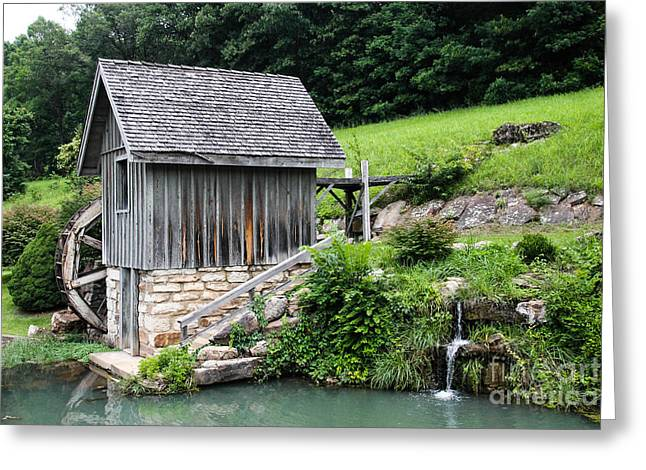 The Trees Greeting Cards - Old Watermill Greeting Card by Laurie Chrisco