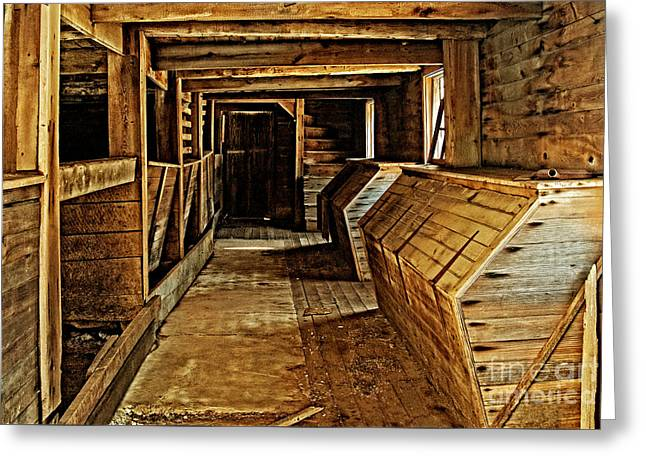 Pa Barns Greeting Cards - Old weathered stables Greeting Card by Paul W Faust -  Impressions of Light