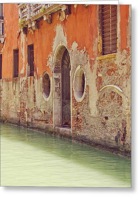 Venetian Door Greeting Cards - Old World Charm Greeting Card by Danny Van den Groenendael