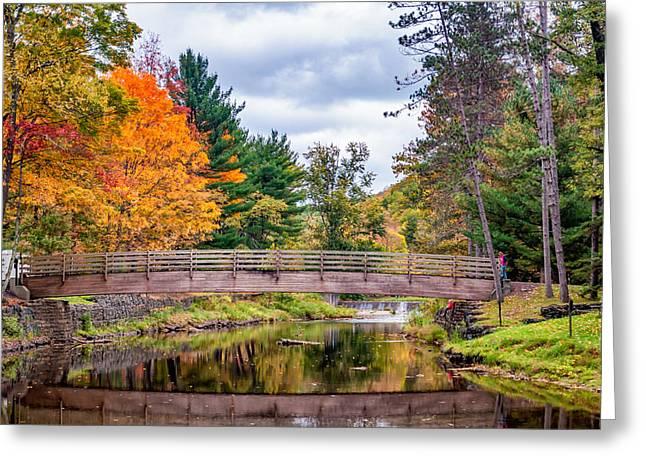 Ole Bull State Park - Pennsylvania Greeting Card by Steve Harrington