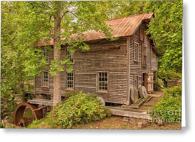 Grist Mill Greeting Cards - Ole Gilliam Mill Color Greeting Card by Audra  Farnham