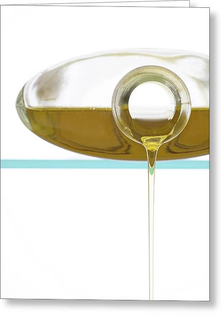 Olive Green Photographs Greeting Cards - Olive Oil Greeting Card by Frank Tschakert