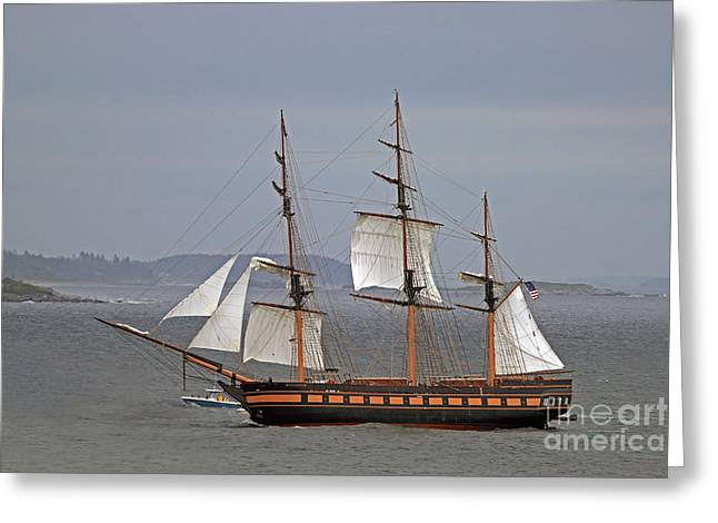 Oliver Hazard Perry Greeting Card by Jim Beckwith