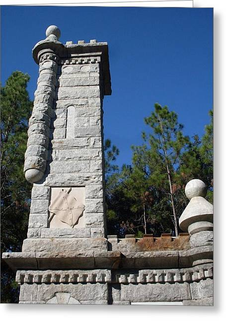 Olustee Greeting Cards - Olustee Civil War Monument Greeting Card by Warren Thompson