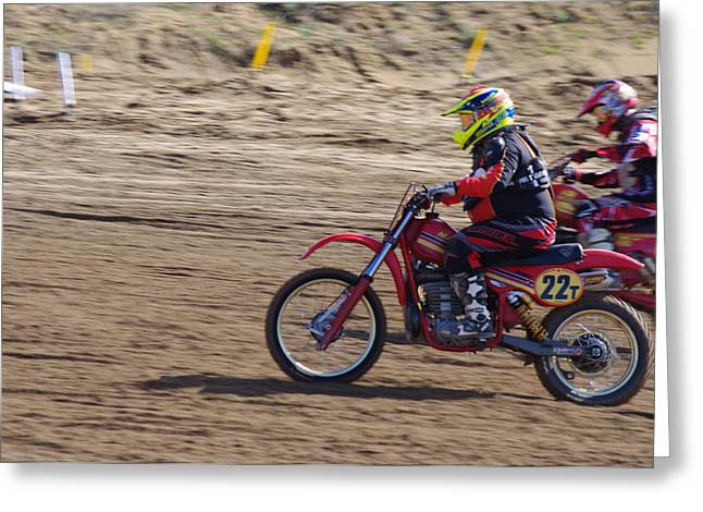 Ktm Greeting Cards - Omc vintage 2015 -19 Greeting Card by Brian McCullough