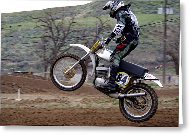 Ktm Greeting Cards - Omc vintage 2015 -28 Greeting Card by Brian McCullough