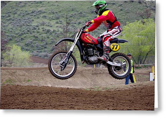 Ktm Greeting Cards - Omc vintage 2015 -29 Greeting Card by Brian McCullough
