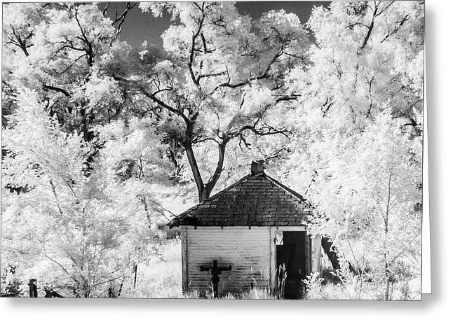 Shack Greeting Cards - On Borrowed Time #20 Greeting Card by Lisa Davids