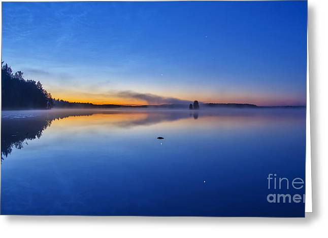 On July Morning At 03.10 Greeting Card by Veikko Suikkanen