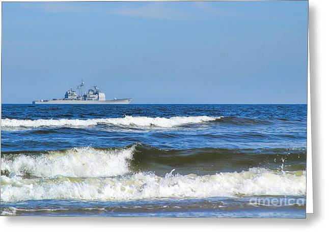Jacksonville Greeting Cards - On The Horizon Greeting Card by Diane Macdonald