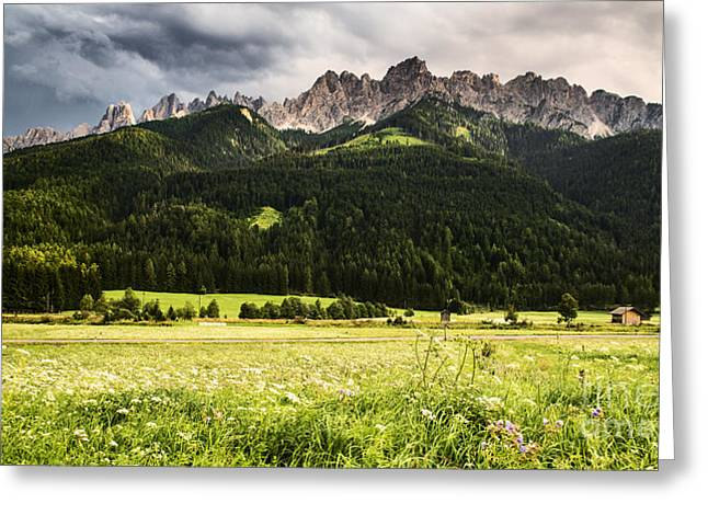 Alps Greeting Cards - On the road Greeting Card by Yuri Santin