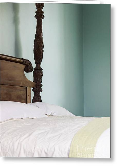 Houses Bed And Breakfast Greeting Cards - On the Side of the Bed Greeting Card by Margie Hurwich