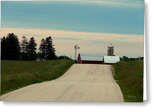 Outbuildings Greeting Cards - Once There Was A Way To Get Back Home Greeting Card by Wild Thing