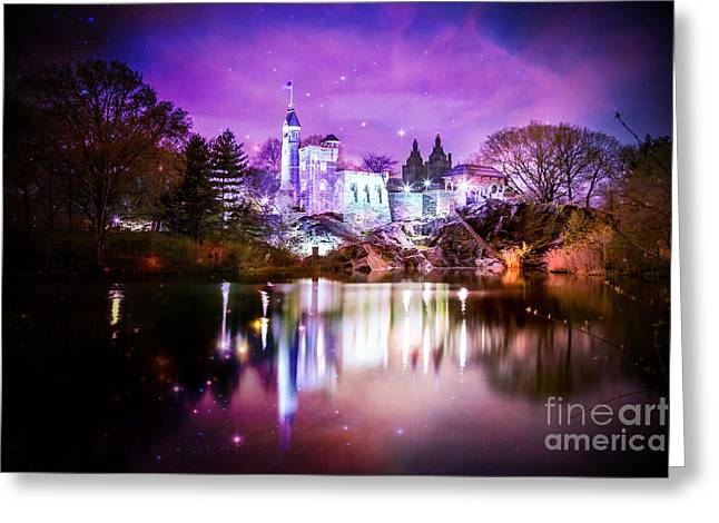 Park Digital Art Greeting Cards - Once Upon A Fairytale Greeting Card by Az Jackson