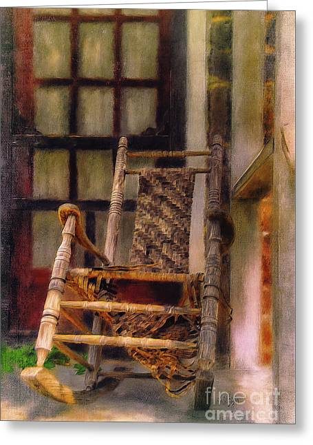 Once Well Loved Greeting Card by Lois Bryan
