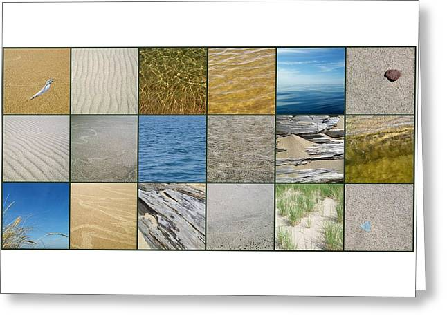One Day At The Beach  Greeting Card by Michelle Calkins