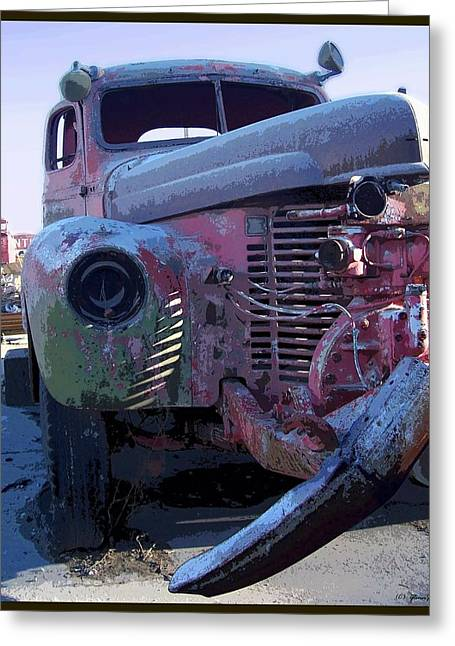 Falling Apart Greeting Cards - One Foot In The... Greeting Card by Glenn McCarthy Art and Photography