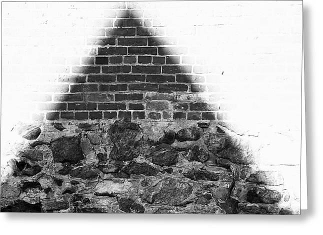 Over-exposed Greeting Cards - One For The Illuminati  Greeting Card by Kreddible Trout