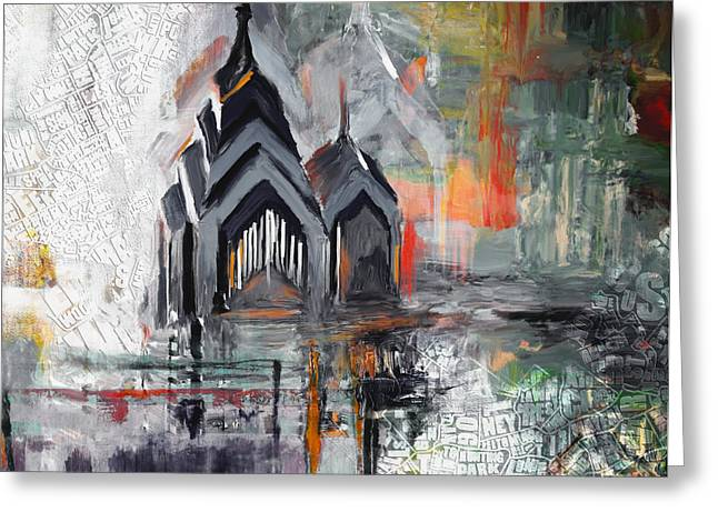 One Liberty Place And Two Liberty Place 229 3 Greeting Card by Mawra Tahreem