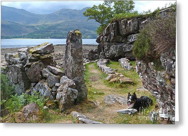 Torridon Greeting Cards - Open Air Meeting Place - Torridon Greeting Card by Phil Banks