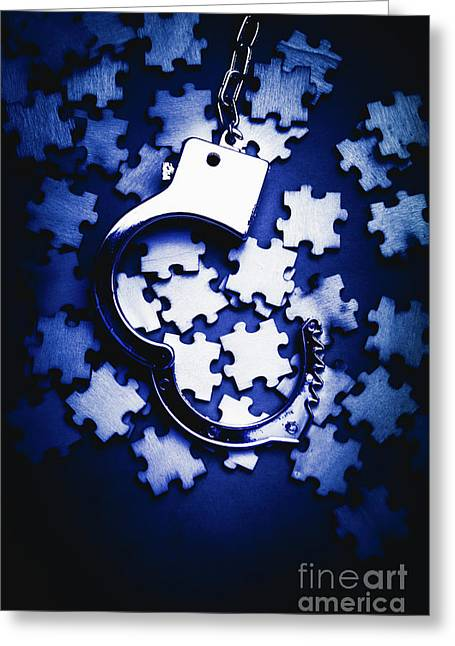 Open Case Mystery Greeting Card by Jorgo Photography - Wall Art Gallery