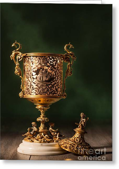 Open Chalice Greeting Card by Amanda Elwell
