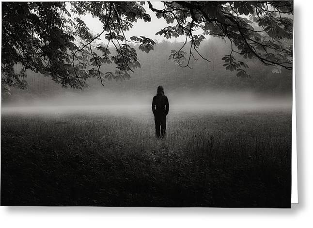 Fog Greeting Cards - Opening Greeting Card by Christoph Hessel