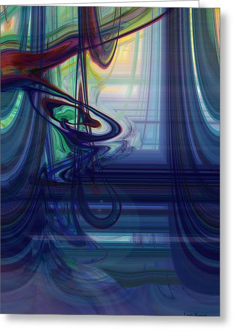 Digital Expressions Greeting Cards - Opening Light Greeting Card by Linda Sannuti