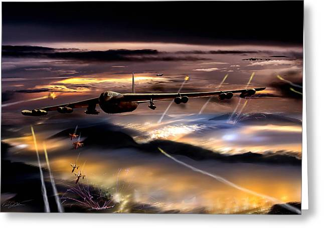 B-52 Greeting Cards - Opening Night Greeting Card by Peter Chilelli