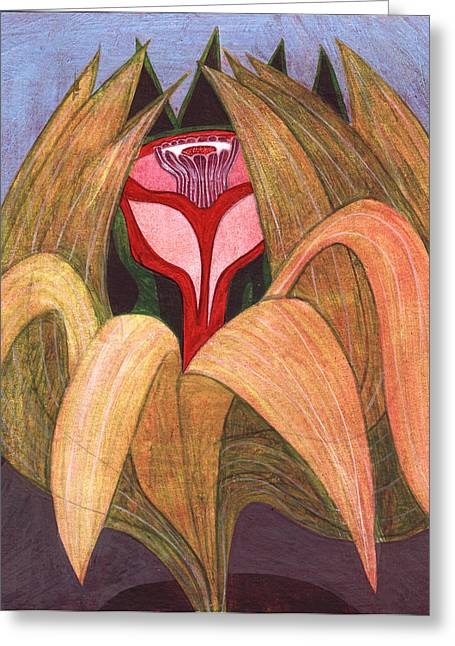 Inner Self Paintings Greeting Cards - Opening To Your True Self Greeting Card by Jon Cooney