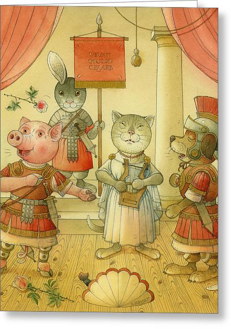 Cesare Greeting Cards - Opera Greeting Card by Kestutis Kasparavicius