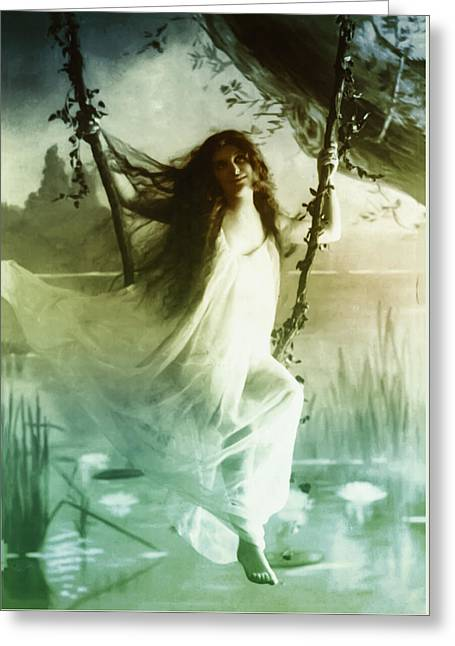 Ophelia 1895 Greeting Card by Digital Reproductions
