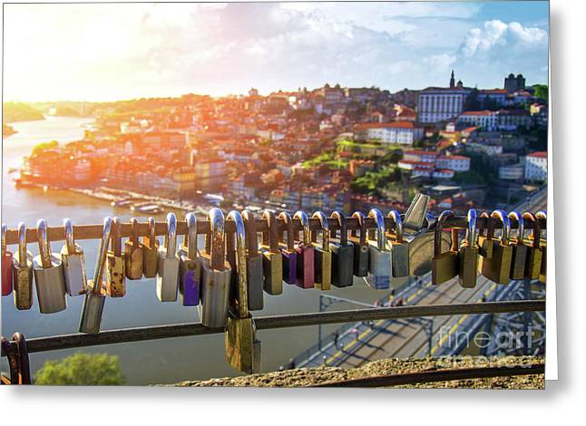 Oporto Is For Lovers Greeting Card by Carlos Caetano