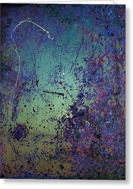 Derek Greeting Cards - Opt.44.14 Wine Cave Greeting Card by Derek Kaplan