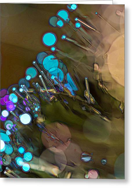 Optic Flare Greeting Card by Bill Tiepelman