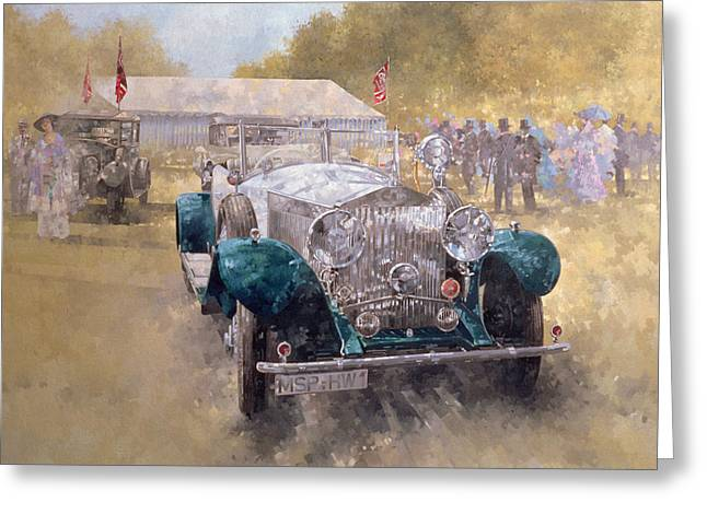 Stylish Car Greeting Cards - Opulence at Althorp Greeting Card by Peter Miller
