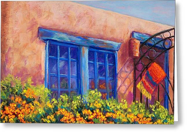 Southwest Pastels Greeting Cards - Orange Berries Greeting Card by Candy Mayer