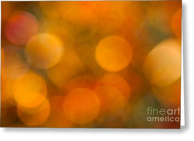Color Colorful Greeting Cards - Orange Peel Greeting Card by Jan Bickerton