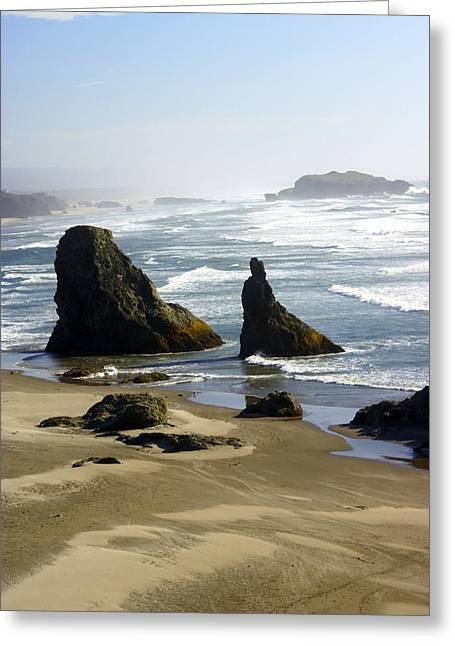 Marty Koch Greeting Cards - Oregon Coast 19 Greeting Card by Marty Koch
