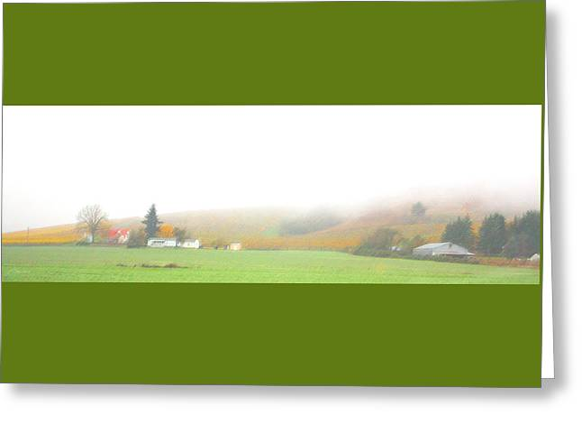 Conservative Greeting Cards - Oregon Countryside Greeting Card by Judith Schmidt