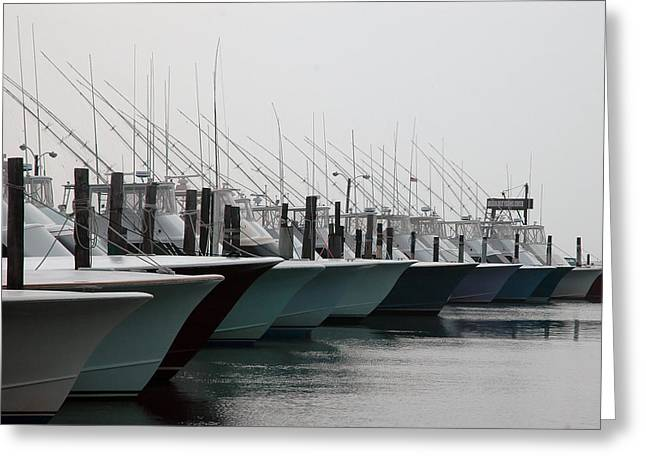 Charter Greeting Cards - Oregon Inlet Greeting Card by Kelvin Booker