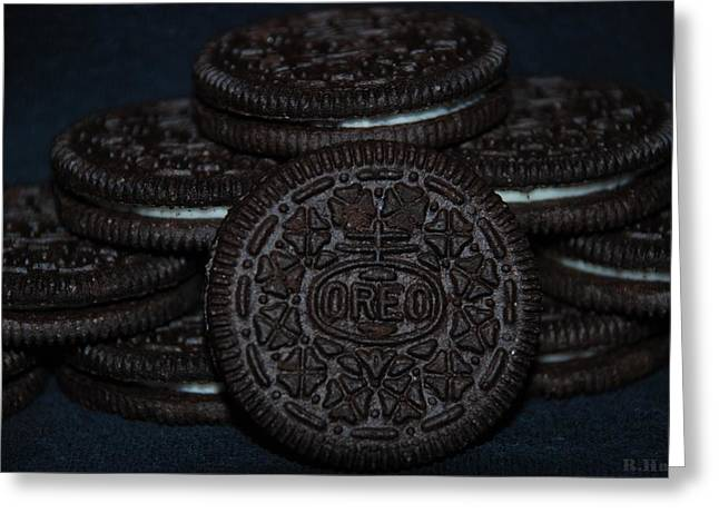 American Popular Culture Greeting Cards - Oreo Cookies Greeting Card by Rob Hans