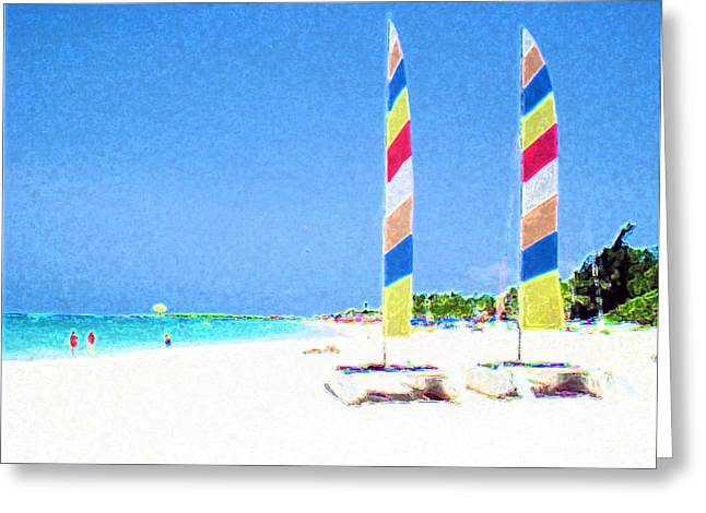 Jerome Stumphauzer Greeting Cards - Orient Beach St. Martin Greeting Card by Jerome Stumphauzer