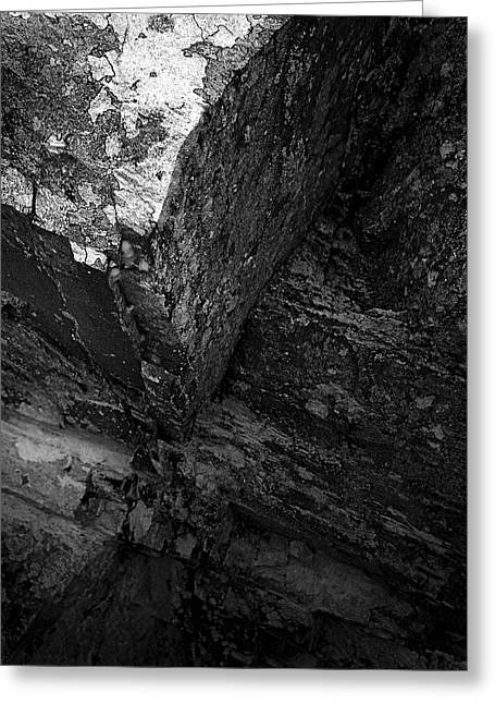 Light And Dark Greeting Cards - Orogeny Greeting Card by Tim Haynes