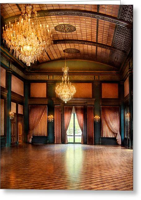 Ball Room Greeting Cards - Other - The Ballroom Greeting Card by Mike Savad