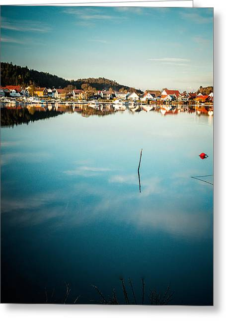 Other Side Of Mandal Greeting Card by Mirra Photography
