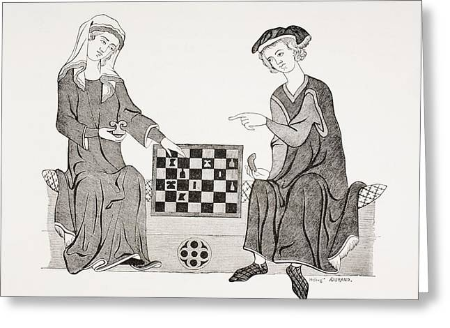 Board Game Greeting Cards - Othon Iv, Marquis Of Brandebourg, 1238 Greeting Card by Ken Welsh