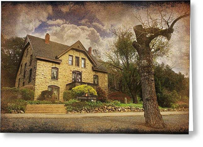 Stone Buildings Greeting Cards - Our Fairytale Greeting Card by Laurie Search