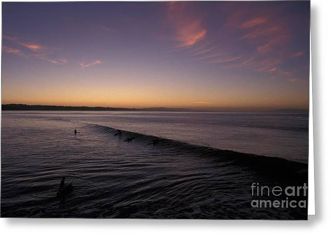 Capitola Greeting Cards - Out Before Dawn Greeting Card by Stan and Anne Foster